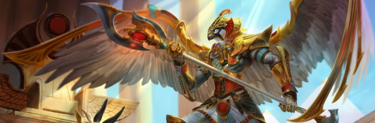 Horus and Set bring their divine duel to SMITE in the latest update
