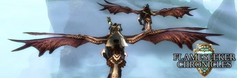 Flameseeker Chronicles: Why Guild Wars 2 has my favorite flying mounts