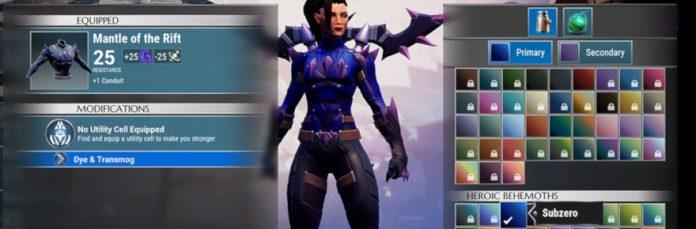 Dauntless details dye-system rework in latest dev blog | Massively