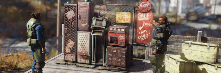 Fallout 76 previews personal vending machines and other features coming next week
