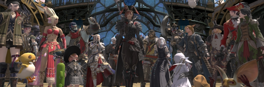 Final Fantasy XIV Shadowbringers tour: The tanks | Massively
