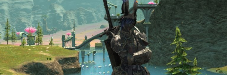 Final Fantasy XIV Shadowbringers tour: The tanks