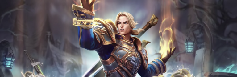 World of Warcraft's Anduin Wrynn brings his pretty face to Heroes of the Storm