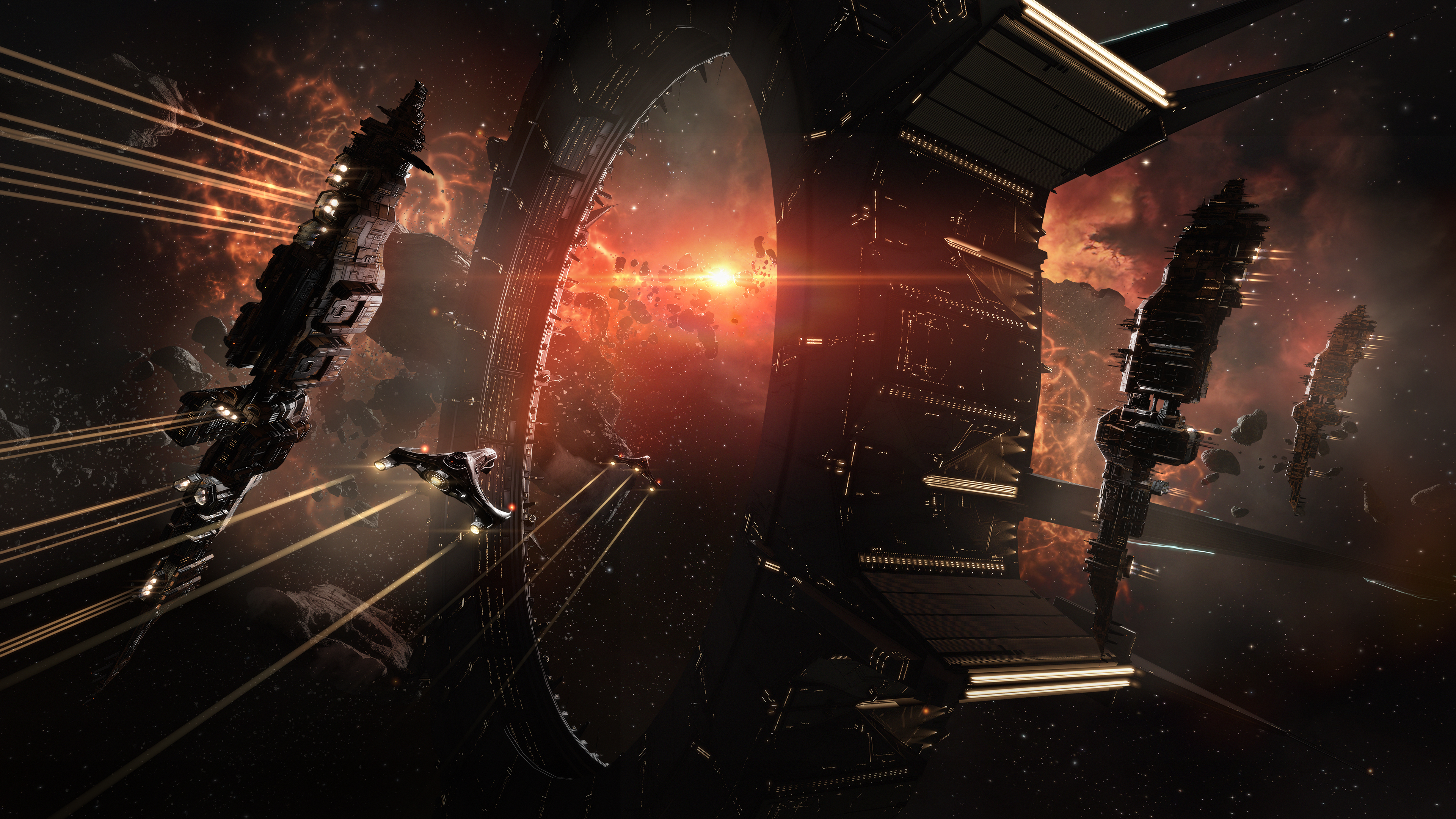 EVE North 2019: A huge battle once broke out in EVE Online, but not