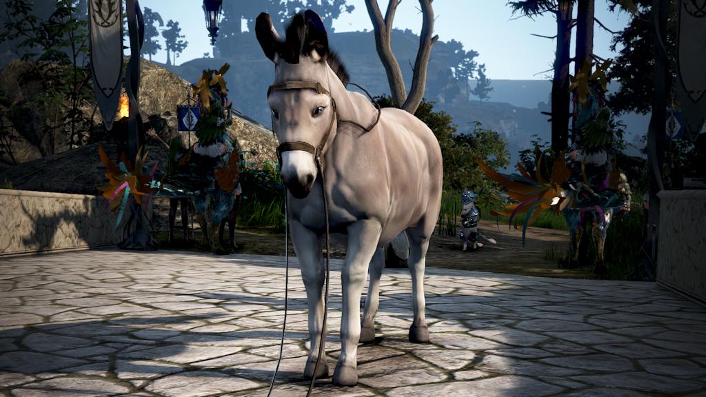 Black Desert's new Shai class (and her donkey!) has