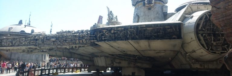 Massively on the Go: Exploring Star Wars Galaxy's Edge augmented reality game