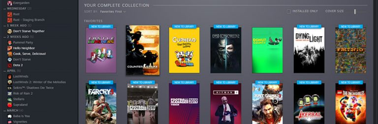 Here's what Steam's new Library overhaul is going to look like