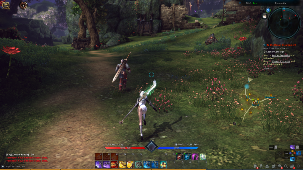 Choose My Adventure: Getting to the group stuff in TERA