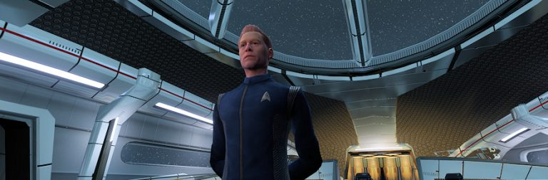 Star Trek Online Awakening is officially live today, starring Discovery's Anthony Rapp