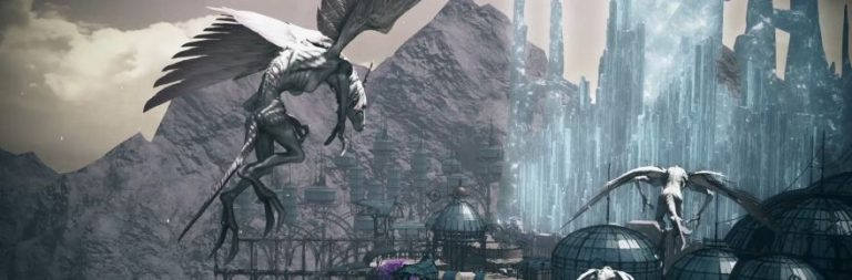 Final Fantasy XIV and Final Fantasy XI offer new year's greetings