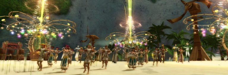 Ryzom's summer promo rewards sub players with ammo in an epic water balloon fight