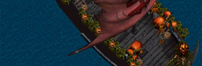 Ultima Online readies a pumpkin ship for Forsaken Foes