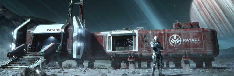 Star Citizen FAQ justifies 'staggered development,' shows off procedural space stations