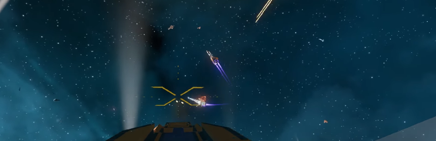 Here's 15 minutes of unedited Starbase combat footage