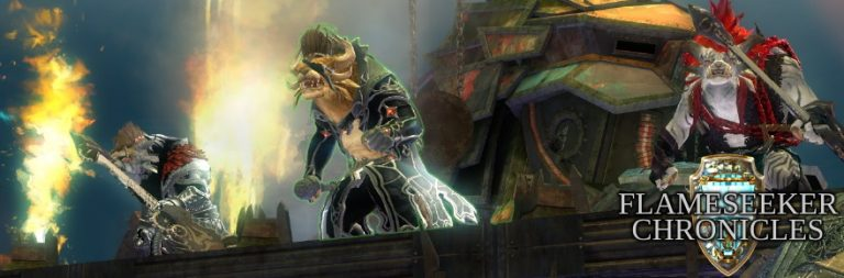 First impressions of Guild Wars 2's Icebrood Saga prelude, Bound by Blood, now live