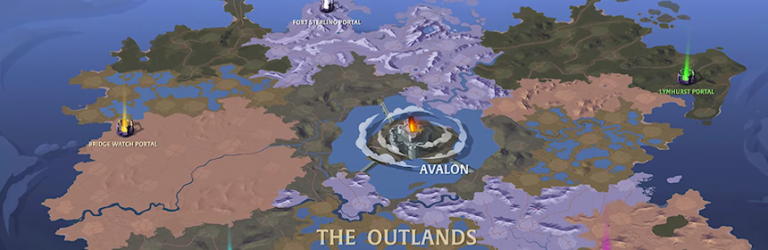 Albion Online details improvements coming to the Outlands in the Queen update