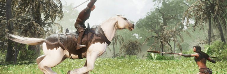Conan Exiles adds mounted combat and followers in tomorrow's patch