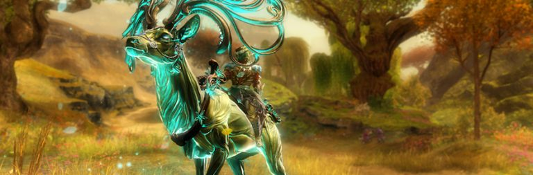 Guild Wars 2 hands out free mount skins to players who lost playtime in the EU rollbacks