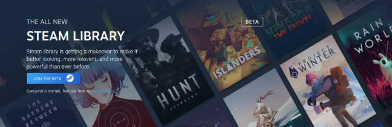 Steam's new features are now available in open beta