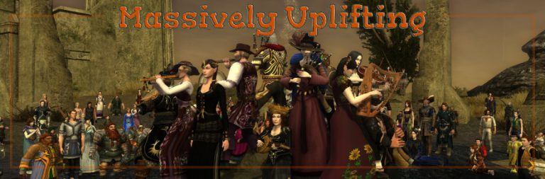 Massively Uplifting: LOTRO community events, appreciative FFXIV fans, and making gaming accessible