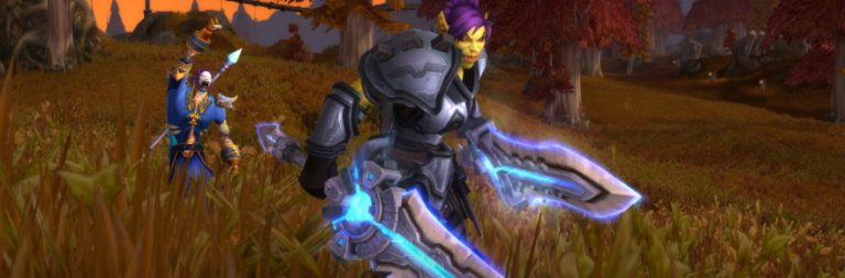Legendary weapons and armor are available for transmog in World of Warcraft's latest test patch build