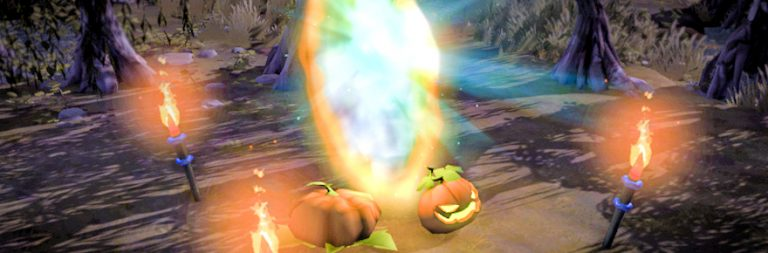 Albion Online kicks off its Allhallows event with a themed dungeon and an upcoming death race