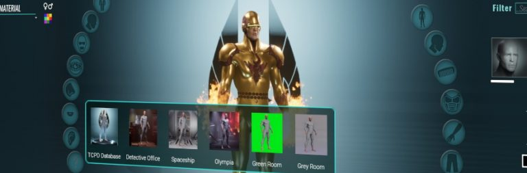 City of Titans' avatar builder is coming to backers soon
