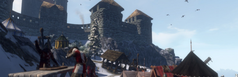 Gloria Victis brings freebuilding to guild castles in the latest update
