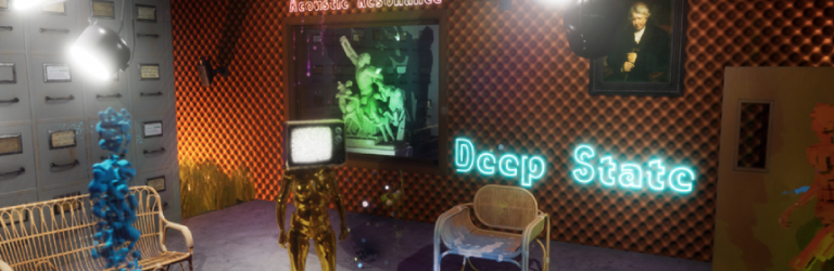 The Occupy White Walls Deep State update turns interrogation rooms into art