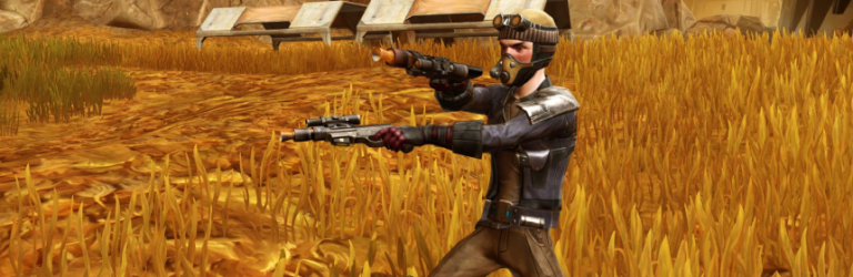 SWTOR previews the new tricks Onslaught brings to Snipers and Gunslingers