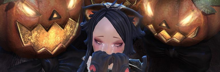 Tera 2020 Halloween Pumpkin TERA encourages players to beat up a pumpkin monster for Trick or