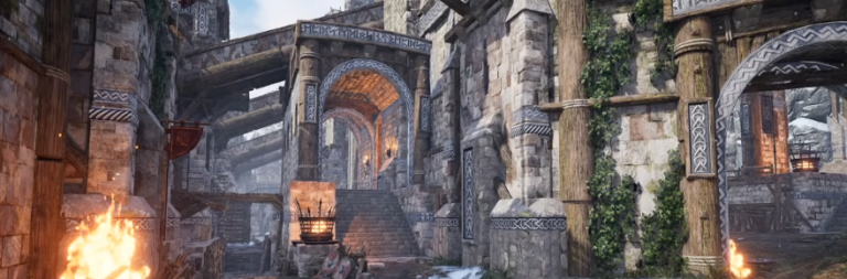 Ashes of Creation highlights work on castle sieges in its latest devstream