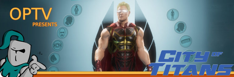 The Stream Team: A first look at City of Titans' character creator