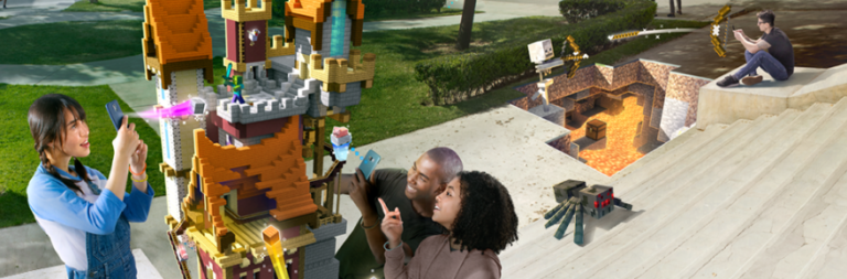 Mobile augmented reality game Minecraft Earth enters early access in the US