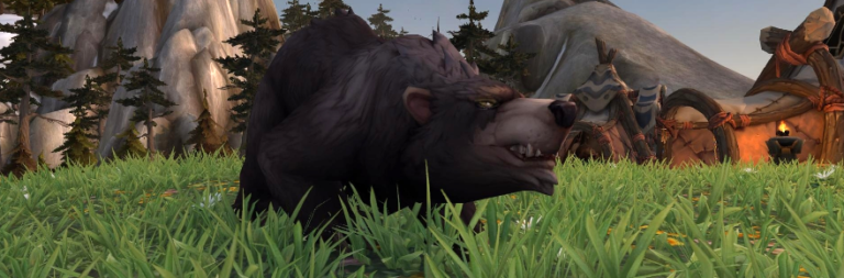 Blizzard's Joe Magdalena recounts a World of Warcraft bear that could kill players with a look