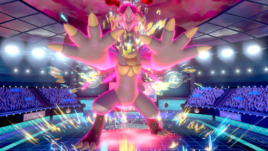 dynamax gym battle