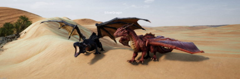 Creature survival sandbox Day of Dragons flaps its way into early access