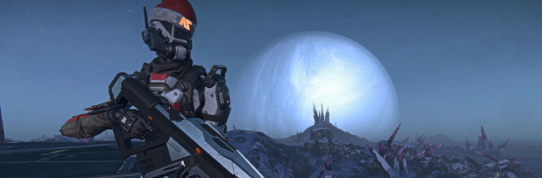 PlanetSide 2 shows off new NSO items and the Sanctuary social hub in latest stream