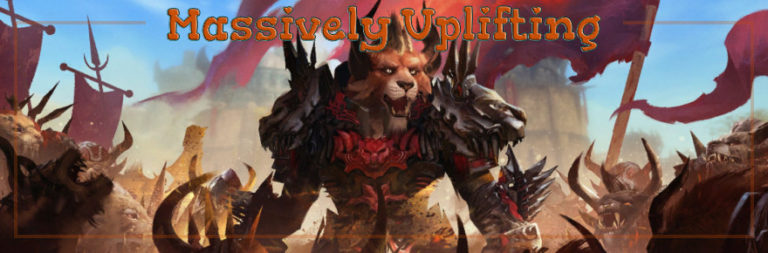 Massively Uplifting: MMO fundraisers, GW2 raid class, and saving trees and cats