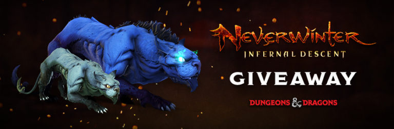 Enter to win a Neverwinter Pack of the Yeth Hound for PC courtesy of PWE and MOP!