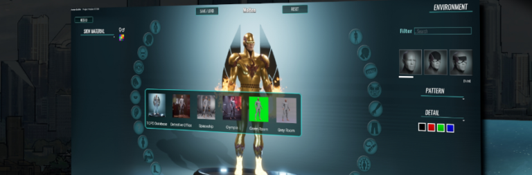 City of Titans makes a small but significant change to the Avatar Builder UI