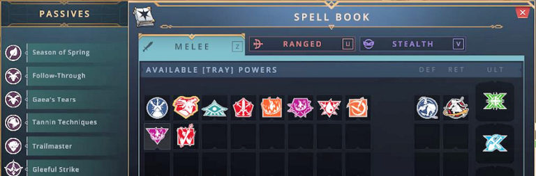 Here's how Crowfall's spellbook and passive skills are changing in the February revamp