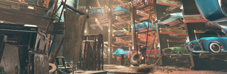 Fallout 76 previews Wastelanders' City of the Future, preps weekend double XP