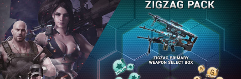 Grab an Ironsight Zigzag Booster Pack from Gamigo and MOP