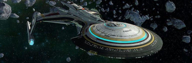 Star Trek Online previews its new anniversary ship, the hybrid Khitomer Alliance Battlecruiser