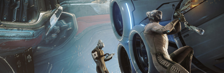 Warframe talks about recent PC updates to improve the Railjack experience