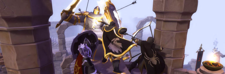 Albion Online adds mobile improvements like a virtual joystick and Outland banks, raises €42K for COVID-19 relief