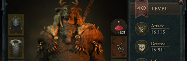 Diablo IV team dishes on inventory revamp, PC vs. console UI layout, and cannibals