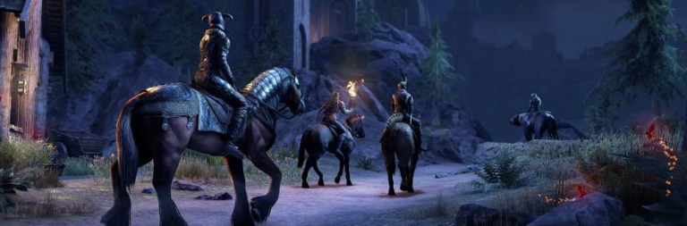 Elder Scrolls Online Explains The Need To Re Download The Game Client And Offers A Free Torchbug For Doing So Massively Overpowered