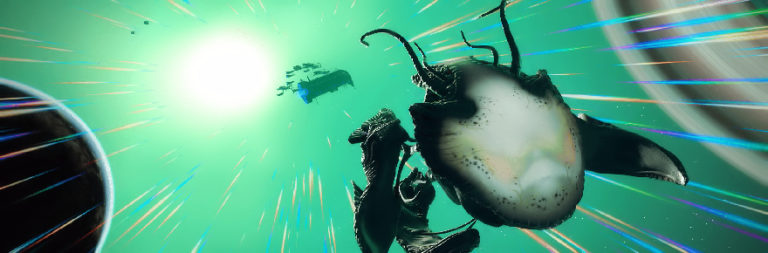 No Man's Sky's Living Ship update adds organic, growable, psychedelic starships